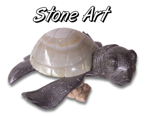 hawaiian stone turtles