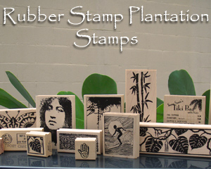 hawaiian rubber stamps