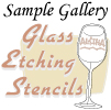 Glass Etch Stencils